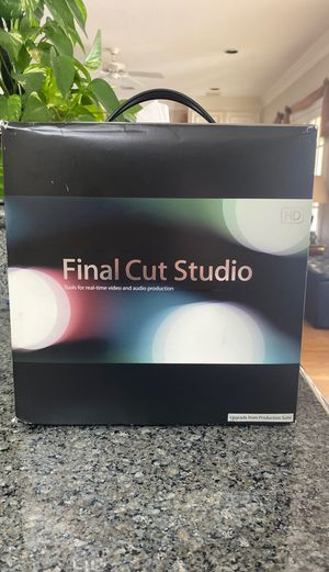 Apple Final Cut Studio for Sale in Sugar Land, TX