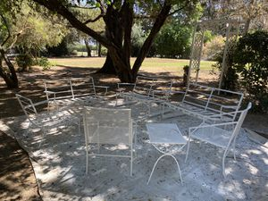 Vintage wrought iron patio furniture for Sale in Exeter, CA