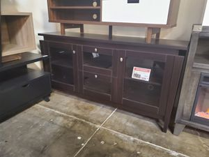 TV Stand up to 70in TVs, Espresso for Sale in Westminster, CA