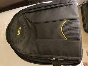 Nikon backpack DSLR Camera bag for Sale in Chantilly, VA