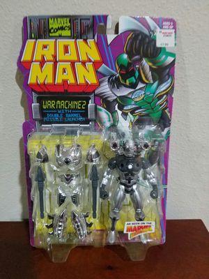 Ironman War Machine II Marvel Comics ToyBiz RARE VINTAGE COLLECTABLE Action Figure for Sale in Thonotosassa, FL