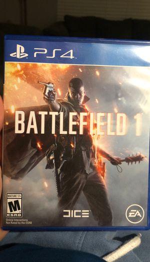 Battlefield 1 PS4 for Sale in Murfreesboro, TN
