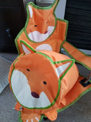 Folding Fox Chair with Matching Sleeping Bag (New) for Sale in Stonecrest, GA