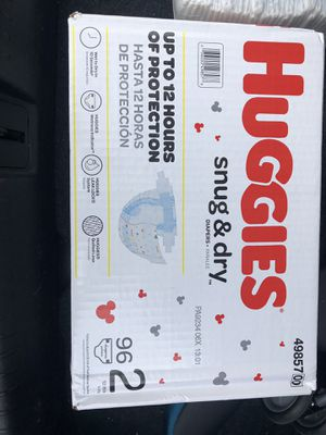 Huggies diapers size 2 for Sale in McKinney, TX