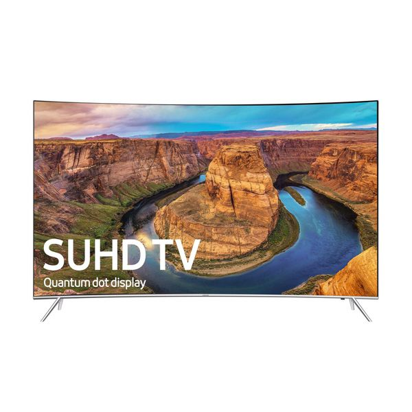 Samsung SUHD 49in Curved tv