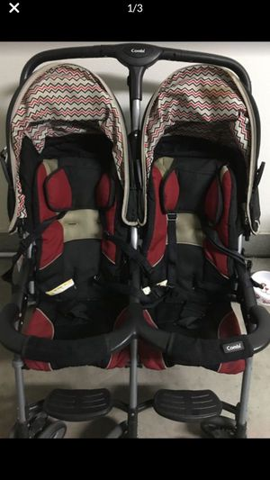 Combi double stroller side by side for Sale in Lake Elsinore, CA