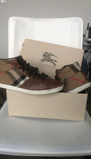 Burberry Trainer Sneakers for Sale in Alexandria, VA