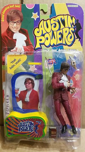 1999 McFarlane Austin Powers figure with talking mirror NEW for Sale in Old Bridge, NJ