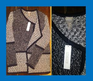 Chico's Cardigan Salt & Pepper Sweater for Sale in New Port Richey, FL
