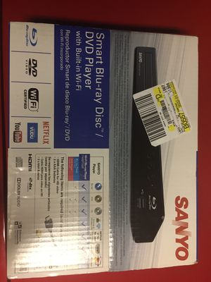 Sanyo Smart Blue- ray Disc DVD with Built in Wi-Fi for Sale in Cypress, CA