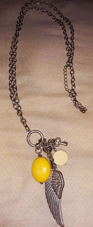 Angel Wing Charm Necklace for Sale in Atwater, CA