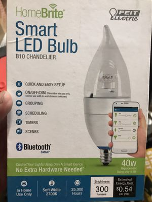 New Smart LED Bulb B10 chandelier for Sale in Los Alamitos, CA