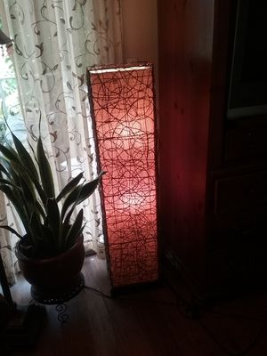 Bamboo floor lamp $15 for Sale in Loma Linda, CA