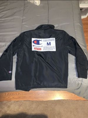 Supreme x Champion Coach Jacket for Sale in Rockville, MD