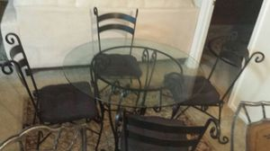 DinningTable with 4 chairs good condition for Sale in Fairfax, VA
