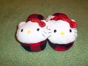 Hello Kitty Slippers - NEW (Size 11/12 & 2/3) for Sale in Vancouver, WA