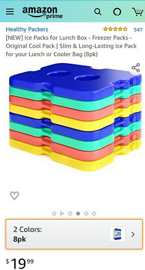 Healthy Packers Blue Ice Packs for Sale in Patterson, CA