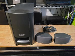 Bose 321 speakers and subwoofer only $75 Not taking offers for Sale in West Palm Beach, FL