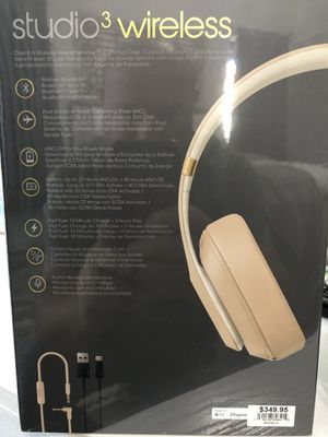 Beats Studio 3 Wireless Headphones for Sale in Clovis, CA