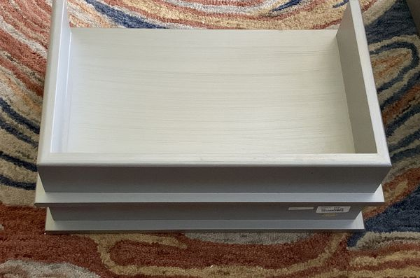 2-Desk File Holder/Wall Shelving ** Heavy**