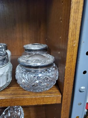 Collectible glass 2 piece set for Sale in Erie, PA