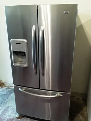 REFRIGERATOR MAY TAG FRENCH DOORS for Sale in Los Angeles, CA