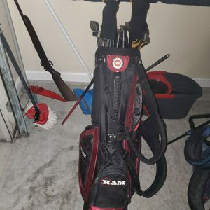 Golf Clubs Lefty With Balls for Sale in Orange Park, FL
