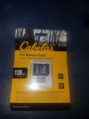 Cabellas memory card pro 128gb for Sale in San Jose, CA