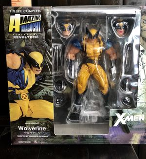X-MEN WOLVERINE action figure toys display for Sale in Grand Prairie, TX