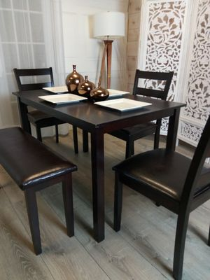 New Dining Room Tables Kitchen Table Chairs Bench Dinette for Sale in Baltimore, MD