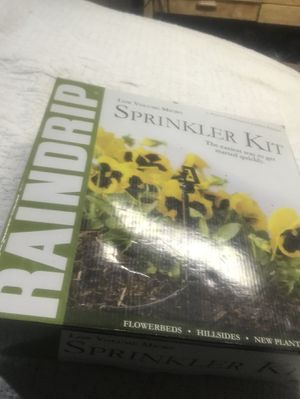 Rain drip sprinkler kit for Sale in Wayne, PA