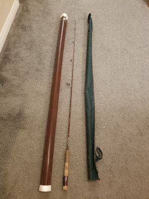 Vintage Fenwick 140 Ultralight 4-1/2 ft. Spinning Fishing Rod with sock and case for Sale in Las Vegas, NV