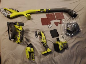 Ryobi 18v Power Tools for Sale in Frederick, MD
