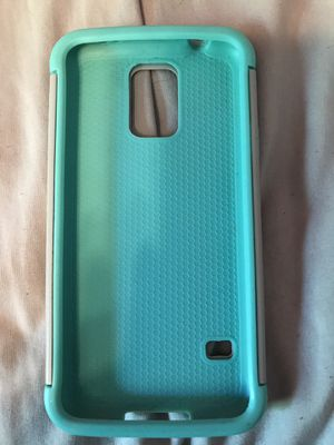 Samsung Galaxy S5 turquoise case for Sale in Bettendorf, IA