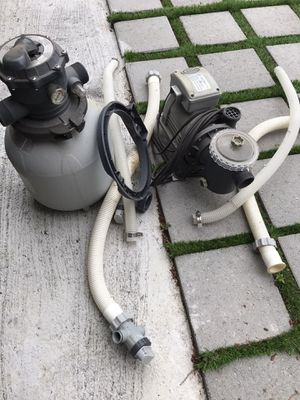 Swimming pool pump and filter for Sale in Portland, OR