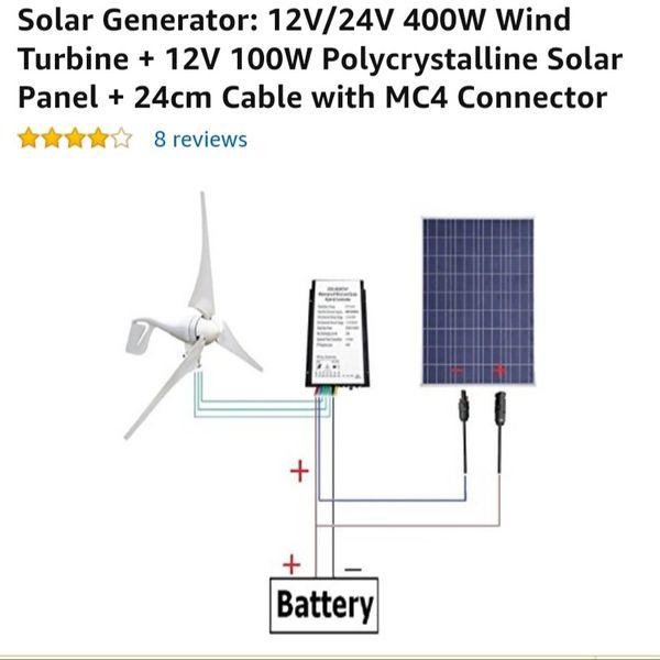 Eco worthy solar and wind generator