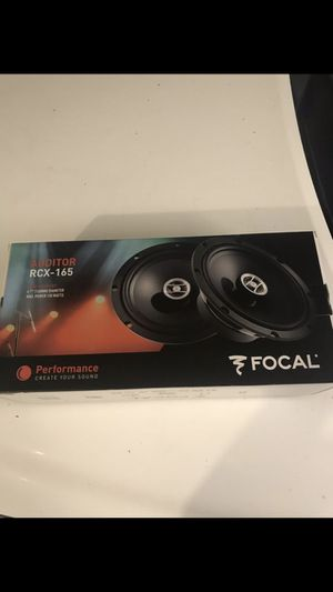Focal RCX-165 speakers 6.5 inch for Sale in Chino Hills, CA