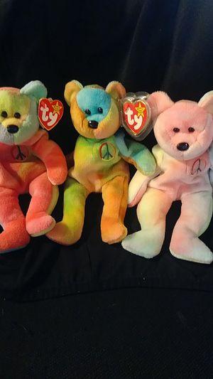 Peace Bear Beanie Baby for Sale in Grand Prairie, TX