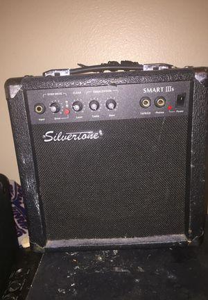SILVERTONE Smart IIIs Guitar Amplifier for Sale in Salt Lake City, UT