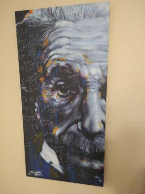 Cuadro de Albert Einstein for Sale in Miramar, FL