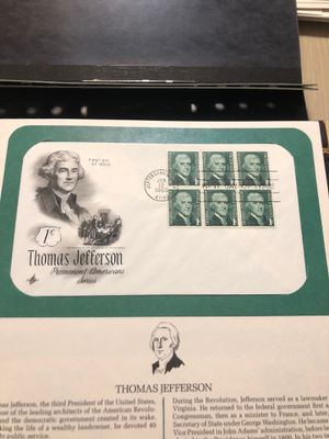 Lot of 10 First Day Covers On a Story Card Preowned From an Estate (Pack-36) for Sale in Berlin, NJ