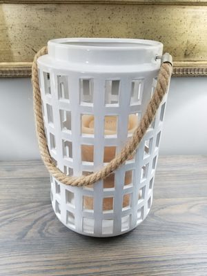 Home Decor Farmhouse Lantern Candle Holder for Sale in Jackson Township, NJ