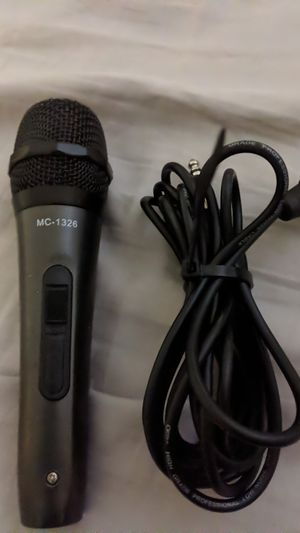 Professional microphone for Sale in Moreno Valley, CA