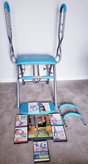 Pilates Pro Chair Max w/DVD's & EXTRAS for Sale in Millsboro, DE