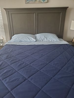Bed frame ( Bed and box spring) for Sale in Denver, CO