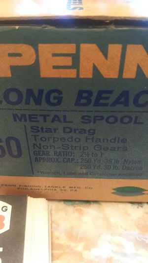 Penn fishing reel for Sale in Sunnyvale, CA