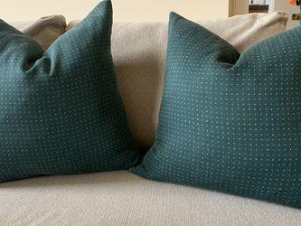 2 Green Decorative Pillows for Sale in Arlington,  VA