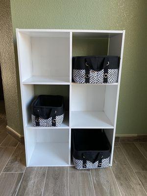 6 cube organizer shelf for Sale in Madera, CA