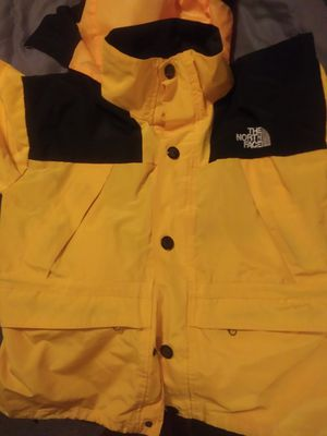 NORTH FACE KIDS YELLOW JACKET SIZE L for Sale in Knoxville, TN