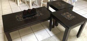 Coffee table set, mint condition. Negotiable. for Sale in Santa Monica, CA
